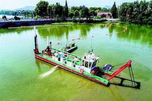 新型環保工藝助襄陽護城河改善水質