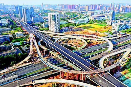 武漢光谷大道高架二期通車在即