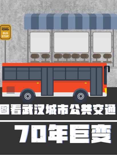 圖看武漢城市公(gong)共(gong)交通70年巨變