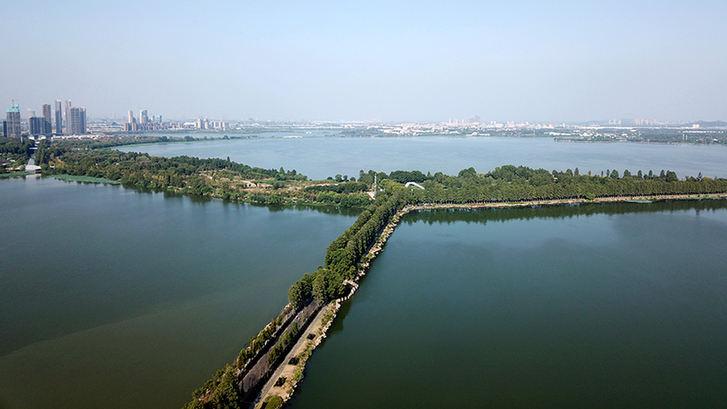 世界東湖綠道 秀美城市項鏈