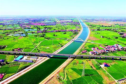 引江濟漢工程應急調水解四湖流域之渴