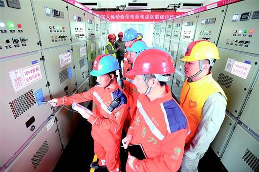 武漢:超聲波檢測 保軍運供電