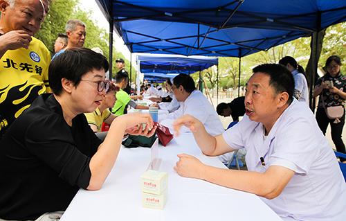 湖北省2019年度義診周活動啟動 近2萬名醫務人員參與