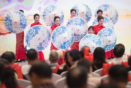 武漢:養老社區文化迎重陽