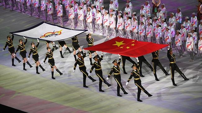 第七屆世界軍人運動會在武漢開幕