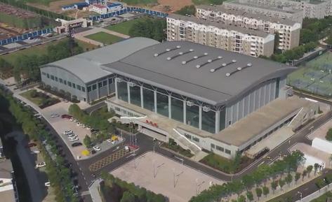 """飛""""閱""""軍運會——武漢城市職業學院體育館"""