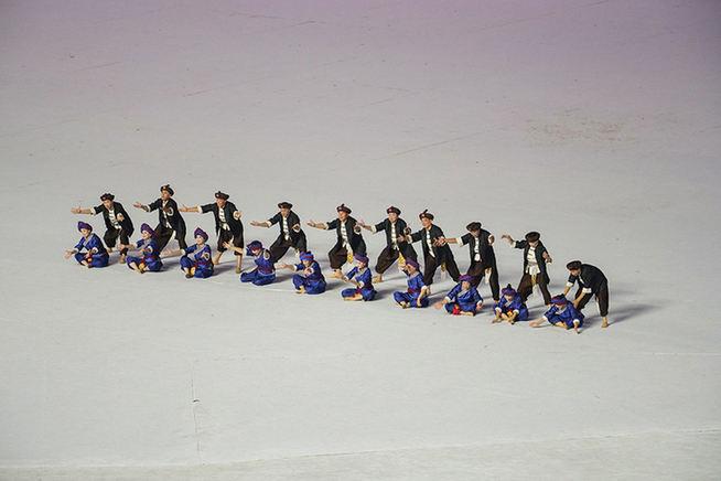 軍運會開幕式暖場表演美輪美奐 今夜世界聚焦武漢