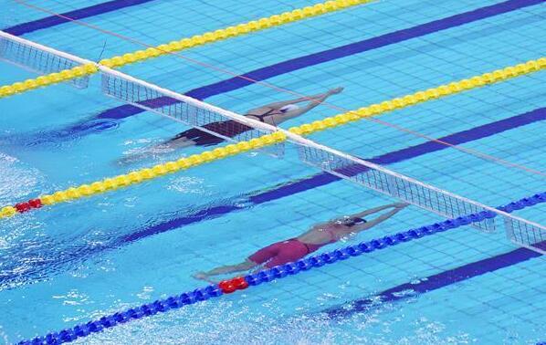 水上救生——女子4X50米障礙遊泳接力:中國隊奪冠