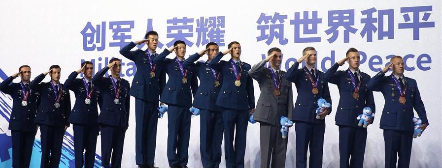 空軍五項——中國隊囊括男子團體、女子團體冠軍