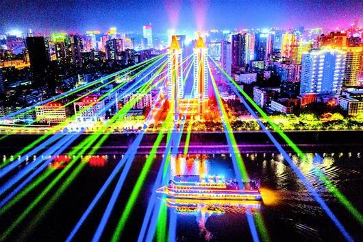 """宜昌掘金""""夜遊經濟"""""""