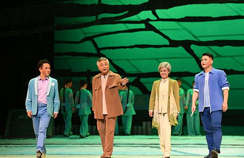 第三屆湖北省花鼓戲藝術節在潛江開幕 江漢平原上演藝術盛會