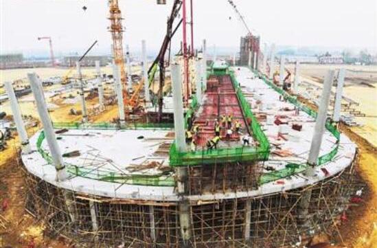 荊州機場航站樓項目進展順利