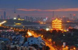 武漢打造百公裏濱江畫廊