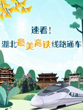 速(su)看!湖北最美高(gao)鐵(tie)線路通車(che)