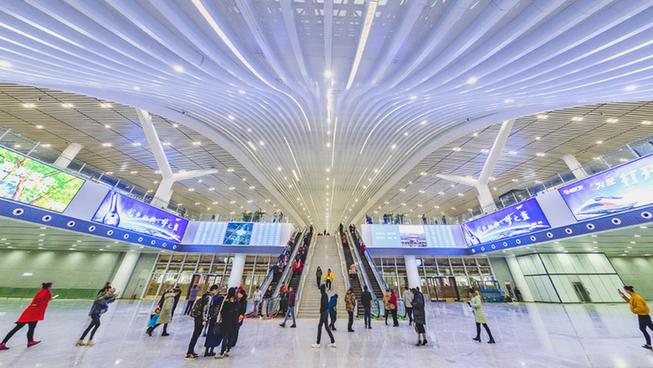 快了!漢十高鐵開通前夕 襄陽東站開放引市民探訪