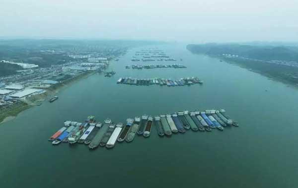 長江首個船舶污染物協同治理信息係統在三峽河段上線