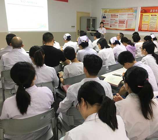 武漢大學中南醫院腫瘤放化療科一、二、三黨支部開展聯合組織生活會