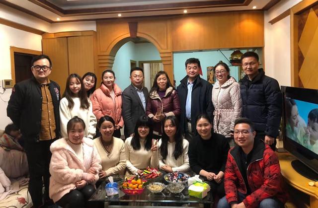 中南醫院胃腸外科黨支部開展冬至送溫暖活動