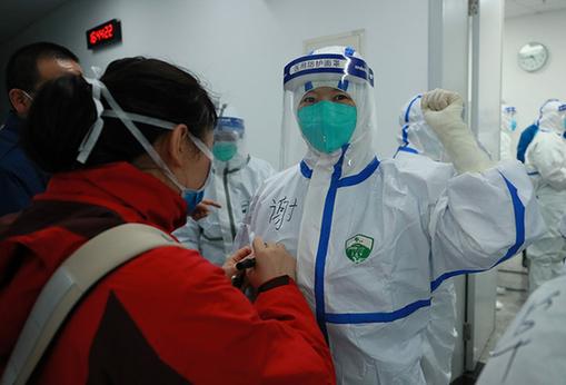 武漢開發區方艙醫院開始接收患者 可提供1000張床位