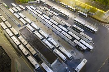 武漢(han)市部分(fen)公交車恢復開行