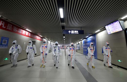 全面消殺!武漢地鐵6條線路重啟運行