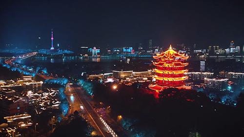 重(zhong)啟上(shang)線,燈(deng)光(guang)璀(cui)璨大武(wu)漢!