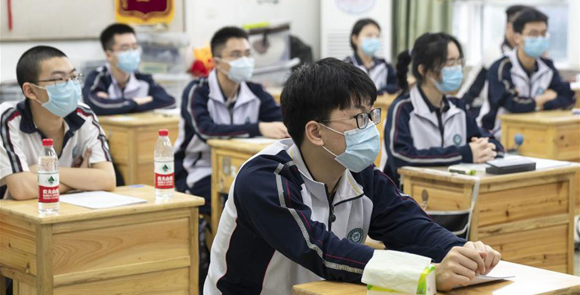 武漢:高三年級復學