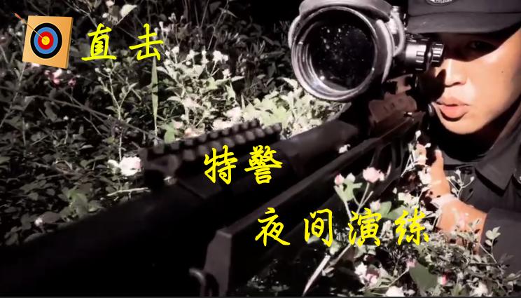 直擊(ji)特(te)警夜間演練