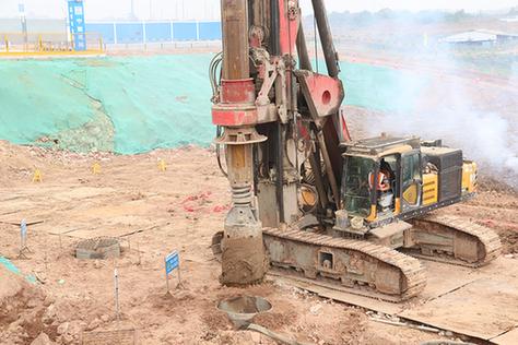 湖北鄂州民用機(ji)場(chang)主體工程加速施工