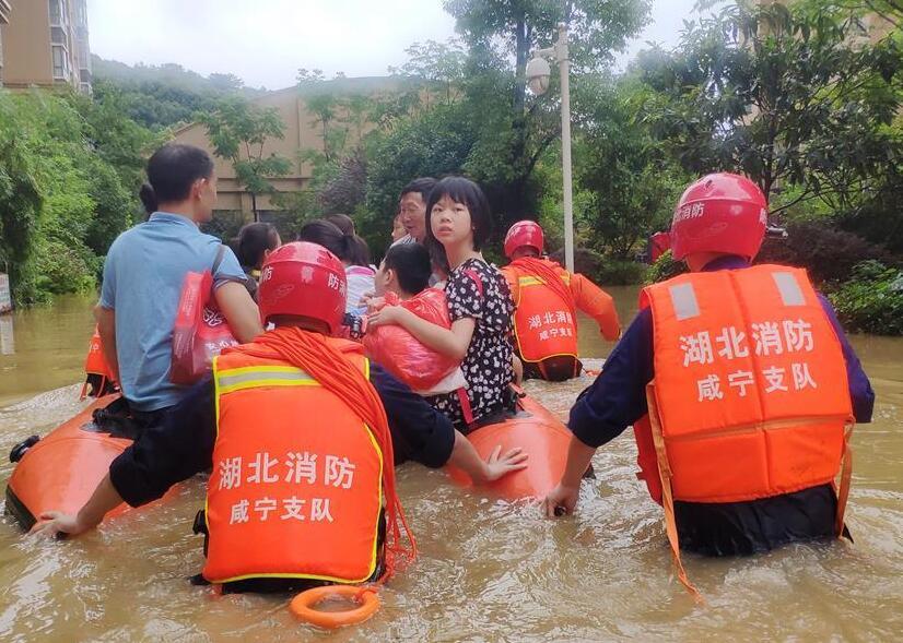 湖北統籌部署緊急應對洪澇災害