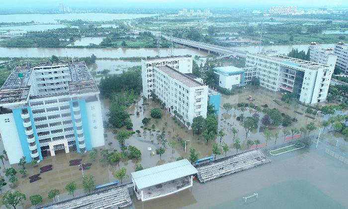 湖北這所大學被淹了 打響排澇大會戰