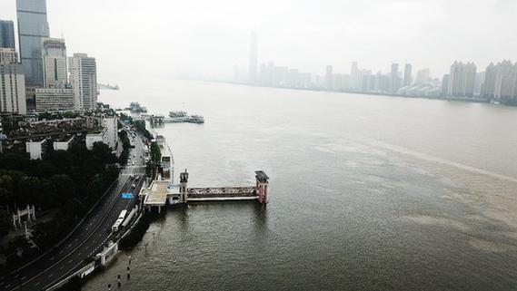 28.77米!本輪洪峰通過長江漢口段
