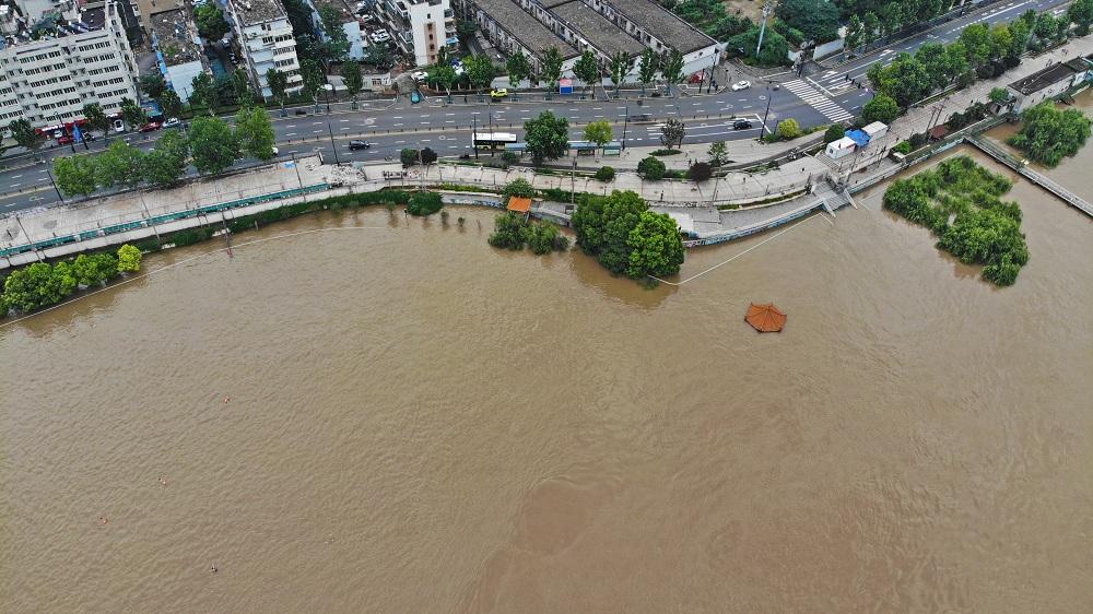 長江流域防洪形勢依然嚴峻
