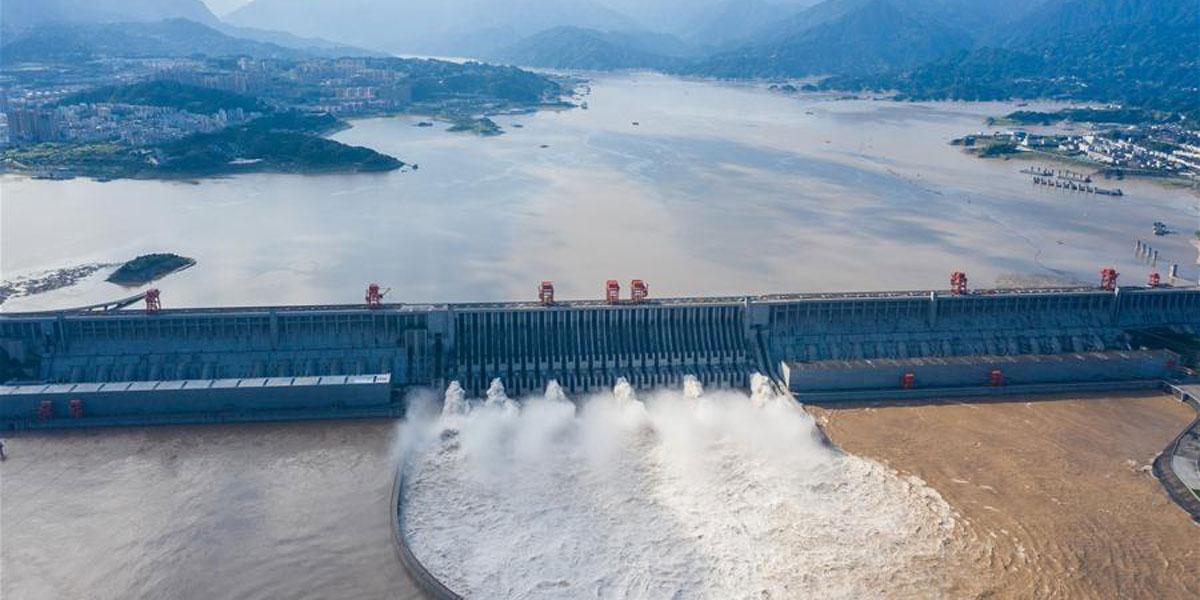三峽水庫有效攔蓄長江2020年第3號洪水削峰達36.7%(圖)