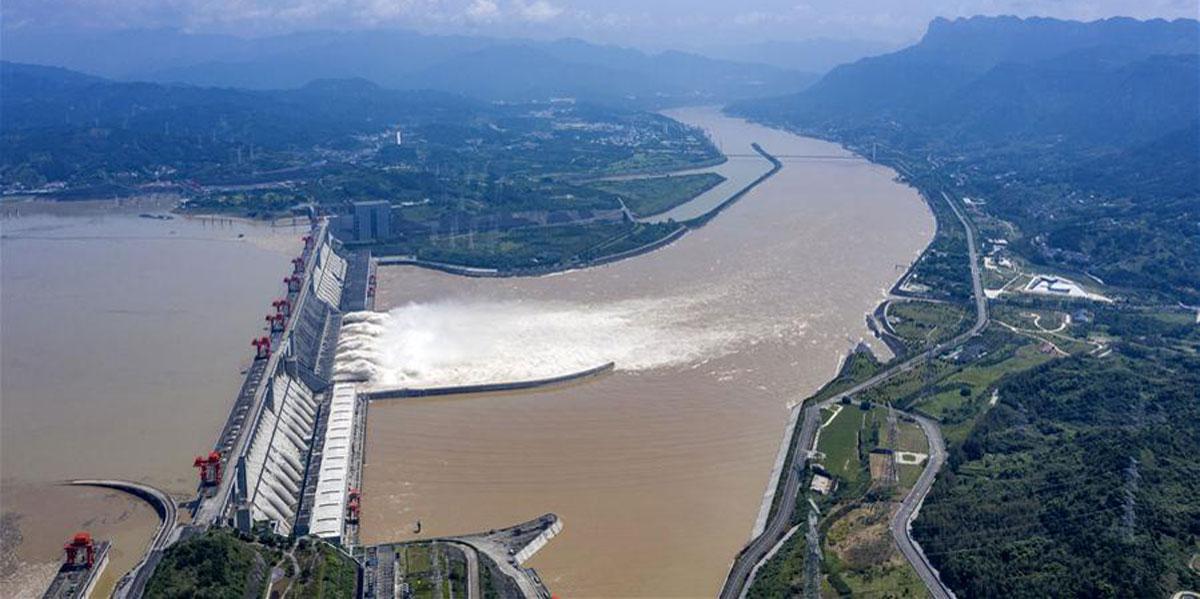 今年入汛以來三峽樞紐已成功應對6場次洪水