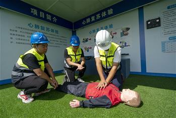 武漢:安全培訓進工地