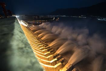 三峽入庫流量超過建庫以來最大值