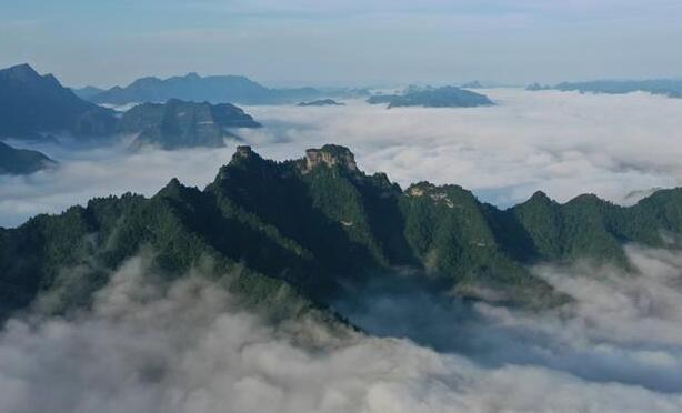 湖北利川:雲海似畫卷