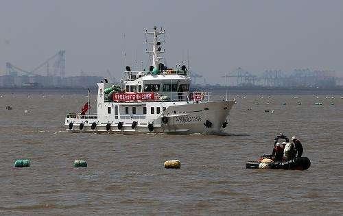 武漢打掉長江流域一非法捕魚團夥