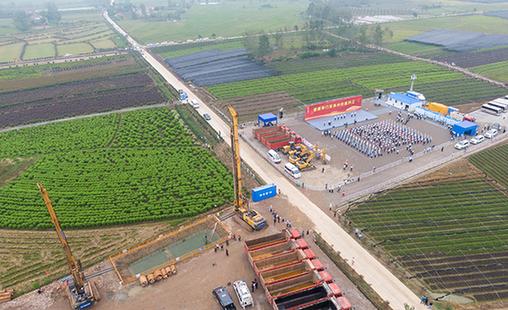 荊荊鐵路開工建設 估算總投資110億元設計時速350公裏