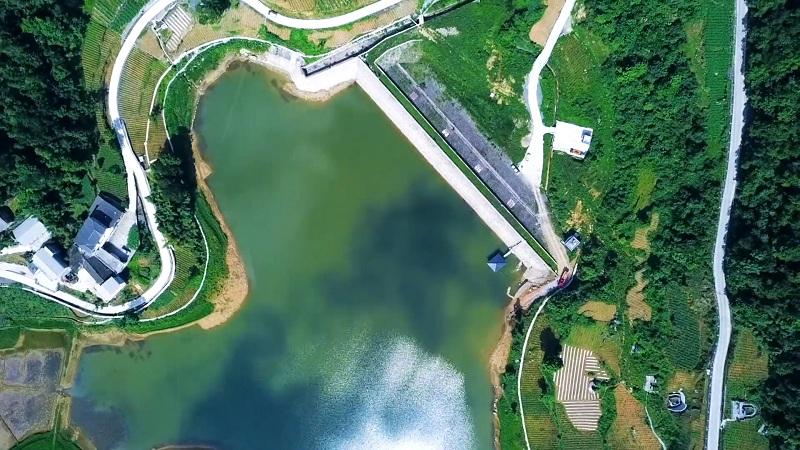 航拍丨治理保護讓水庫更美