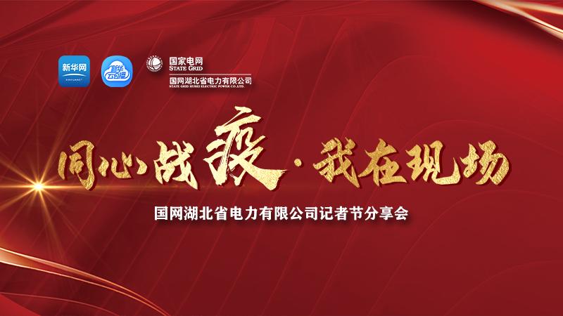 """直播:國網湖北省電力公司""""同心戰疫 我在現場""""記者節分享會"""