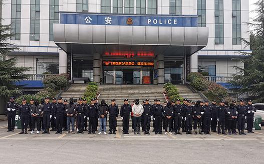 """湖北公安鐵腕""""斷卡"""" 40天抓獲嫌疑人2892名"""