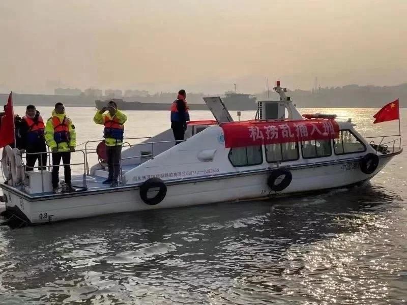 湖北武穴多部門聯合開展長江流域非法捕撈巡查行動