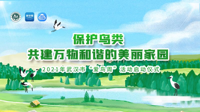 """【新華雲直播】2021年武漢市""""愛鳥周""""活動啟動儀式"""