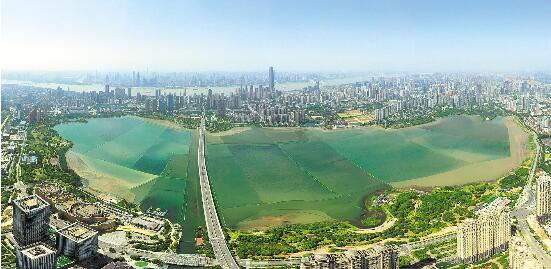 武漢同步實施119項水環境治理工程