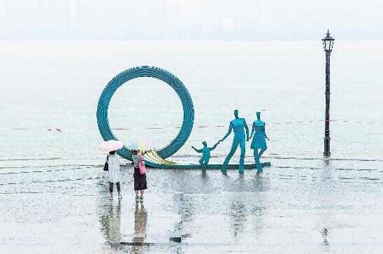 長江武漢關水位突破設防水位