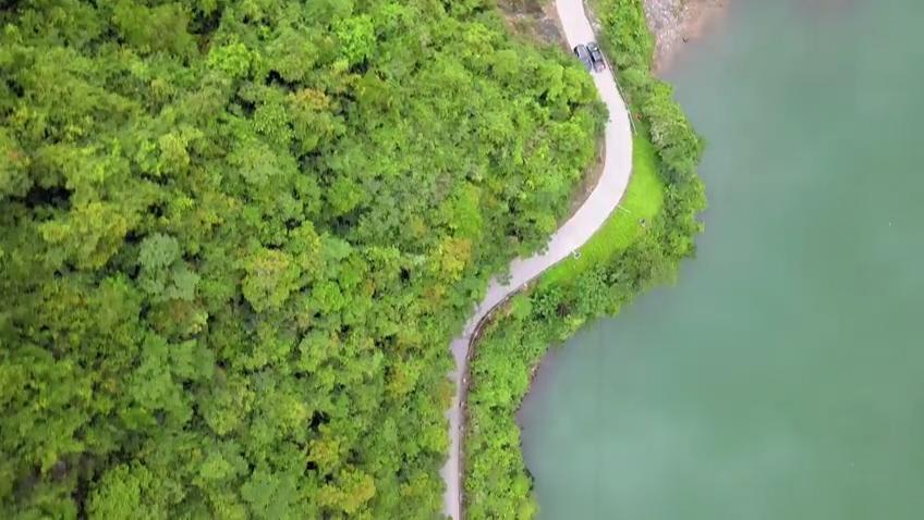 碧峰鏡水芭蕉河 盡顯生態之美