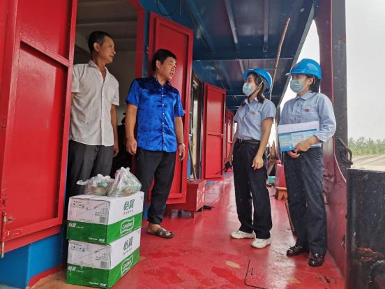 漢江興隆船閘延長通航時間 提升運輸旺季過閘效率