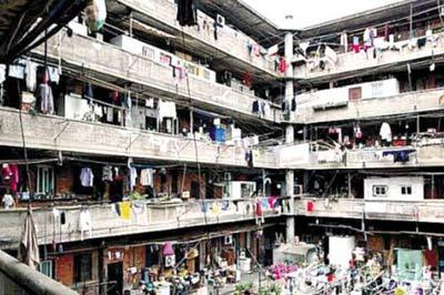 上海現實版豬籠城寨演繹蝸居生活